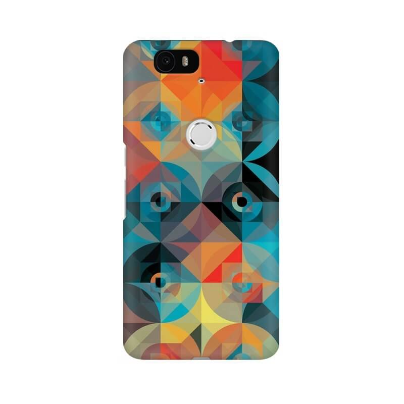 Buy Circle Line Abstract Nexus 6P Mobile Back Cover