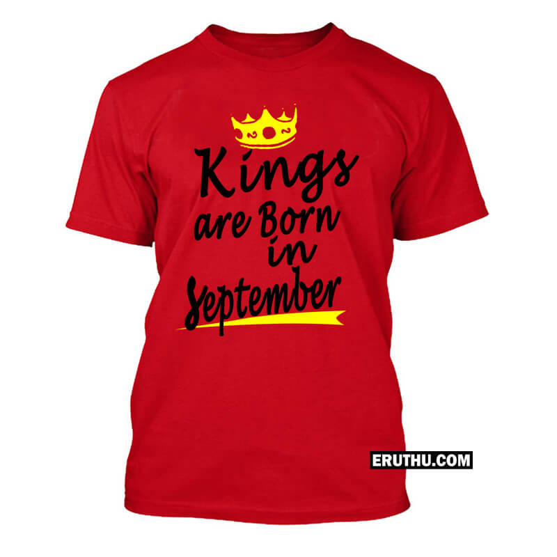 Buy Born In September Men T Shirt Products Online At Low Prices In
