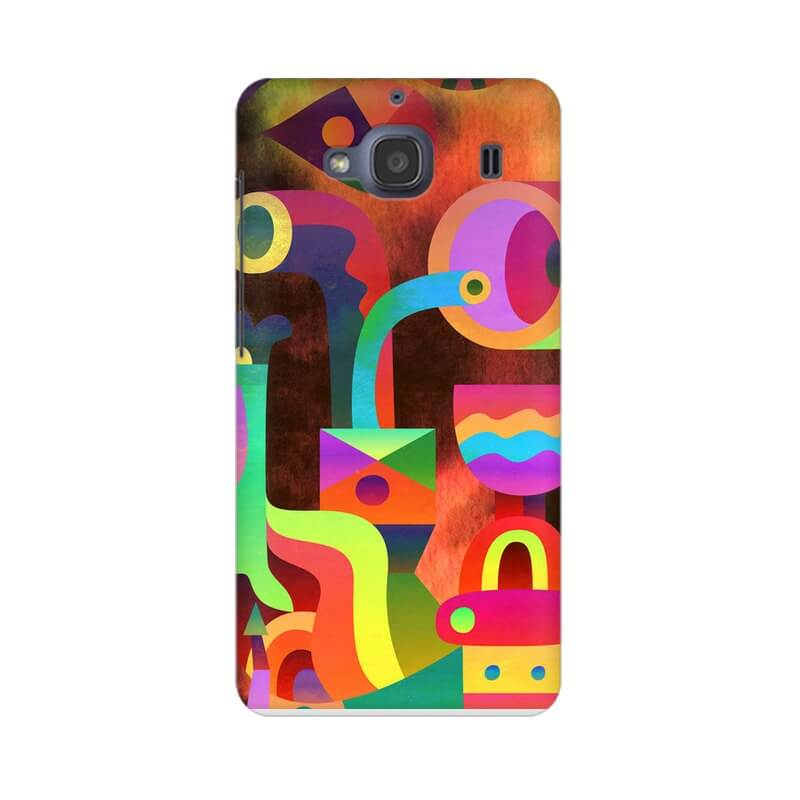 Colormix Abstract Xiaomi Redmi 2s Mobile Back Cover