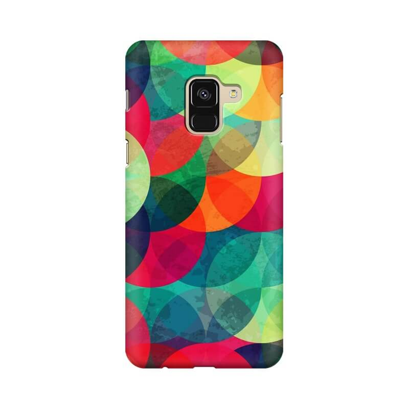 best sneakers 24ccc 05961 Buy Fontos Abstract Samsung A8+ Mobile Back Cover products online