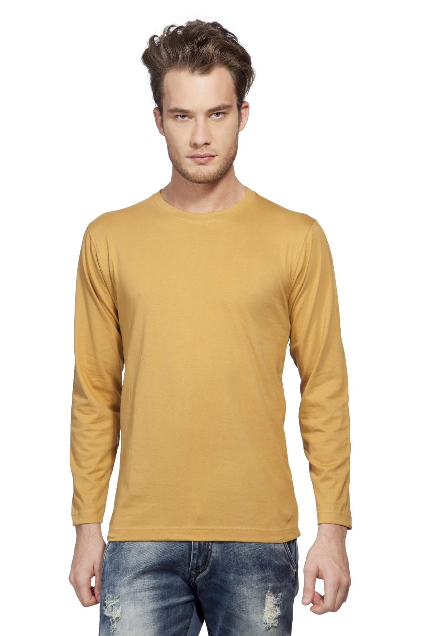 905376afb48029 Buy Men Plain Round Neck T Shirts products online at low prices in ...