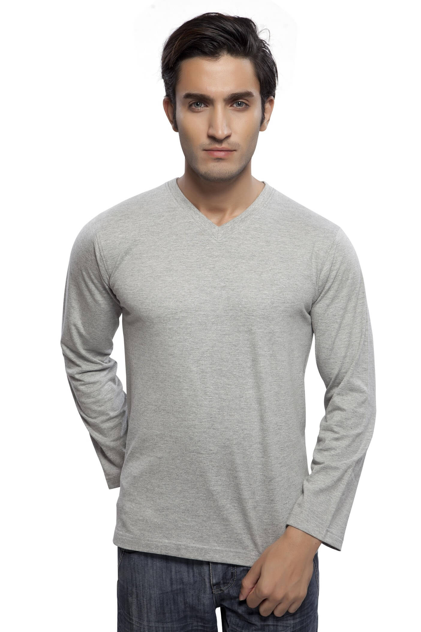 4602ed41b340 Buy V Neck T Shirts For Men products online at low prices in India ...