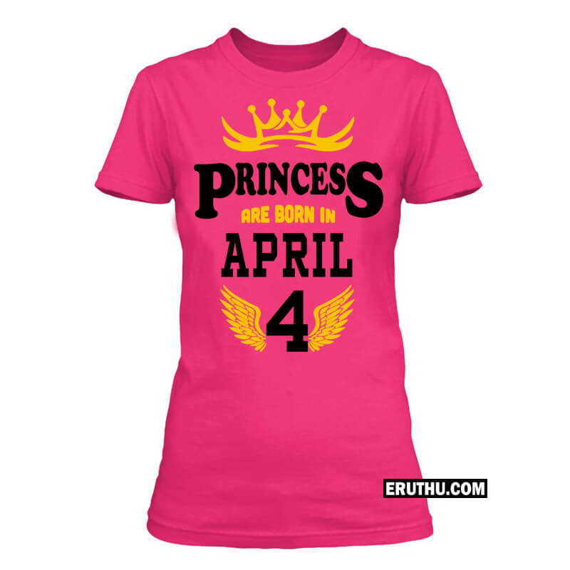 519e2892 Buy Born In April Women T Shirt products online at low prices in ...