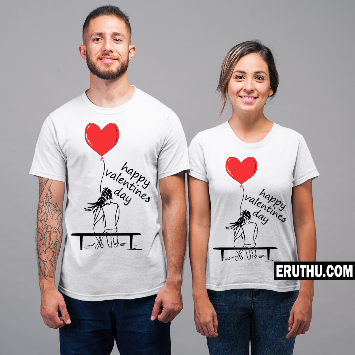 Buy Happy Valentines Day Couple T Shirt Products Online At Low Prices