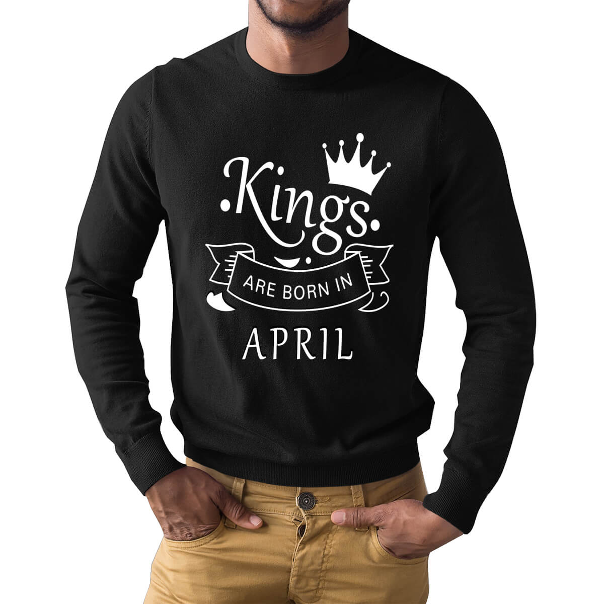 Buy Born In April Men T Shirt Products Online At Low Prices India